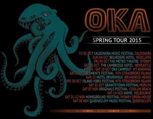 oka spring tour 2015